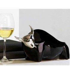Figure Bulli Céramique Noir Argent