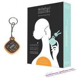 Porte Clé parfumé Millefiori Milano - Sucre Glace