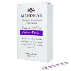 Eau de Toilette Mandelys - Ambre Marine