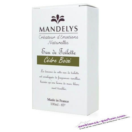 Eau de Toilette Mandelys - Cèdre Boisé