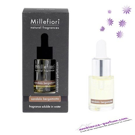 Parfum Soluble Millefiori Milano - Santal Bergamote