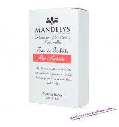 Eau de Toilette Mandelys - Rose Ambrée