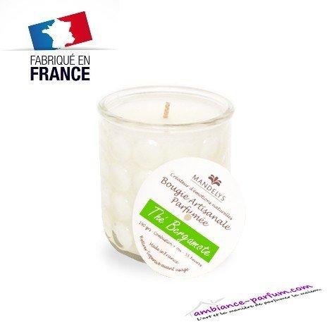 Bougie Artisanale Mandélys - Thé Bergamote