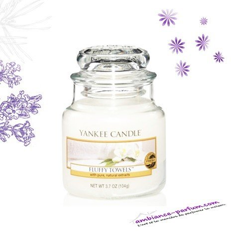 Bougie Parfumée Yankee Candle - Fluffy Towels