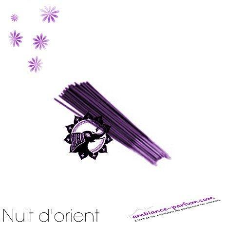 Bâtons d'encens GALÉO x 10 - Nuit d'Orient