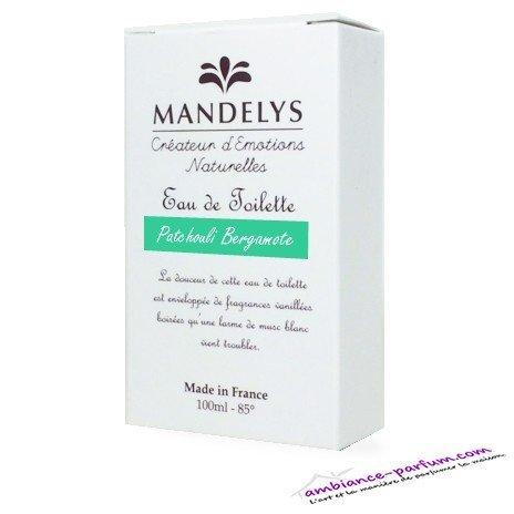 Eau de Toilette Mandelys - Patchouli Bergamote