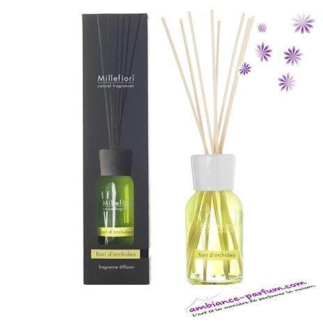 Diffuseur Millefiori Natural - Fleur d'Orchidée