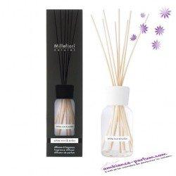 Diffuseur Millefiori Natural - White Mint & Tonka