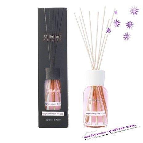 Diffuseur Millefiori Natural - Magnolia Blossom & Wood