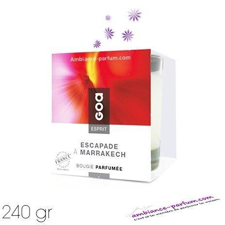 Bougie Crème Esprit GOA - Escapade Marrakech
