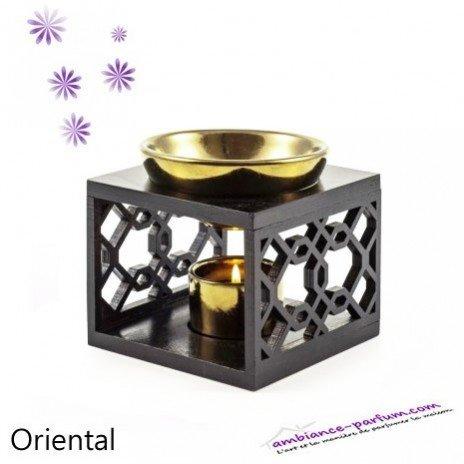 Brûle-parfum Bois & Céramique - Oriental