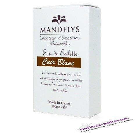 Eau de Toilette Mandelys - Cuir Blanc