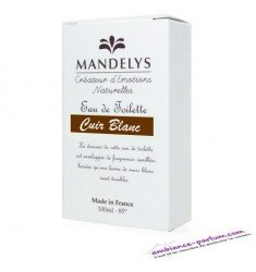 Mandelys Eau de Toilette - White Leather
