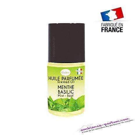 Huile parfumée GALÉO Menthe Basilic