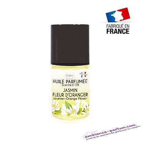 Huile parfumée GALÉO Jasmin - Fleur d'Oranger