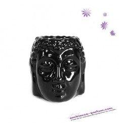 Brûle parfum MINI Tête de Buddha Thaï - Noir