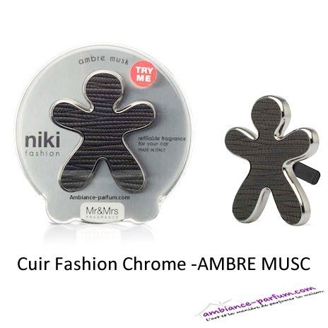 Diffuseur Niki Chrome - Air Pur