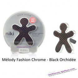 Diffuseur Niki Fashion MELODY Chrome - Black Orchidée