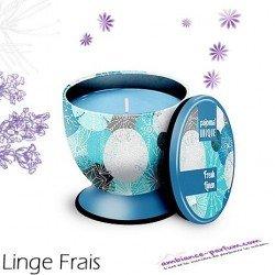 Bougie parfumée Luxe - Linge Frais