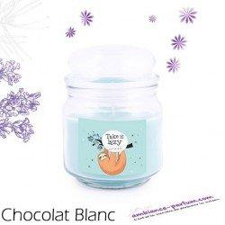 Bougie parfumée Luxe - Chocolat Blanc