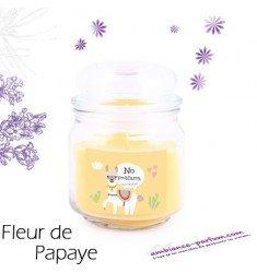 Bougie parfumée Luxe - Fleur de Papaye