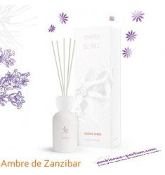 Diffuseur Blanc Mr & Mrs Fragrance - Ambre Zanzibar