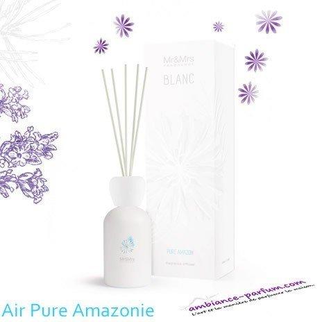 Diffuseur Blanc Mr & Mrs Fragrance - Air Pure d'Amazonie