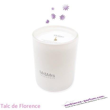 Bougie Parfumée Mr&Mrs - Talc de Florence