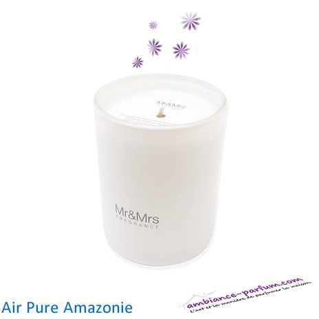 Bougie Parfumée Mr&Mrs - Air Pure Amazonie