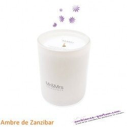 Bougie Parfumée Mr&Mrs - Ambre Zanzibar