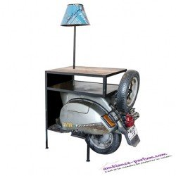 Table d'appoint Scooter Vintage