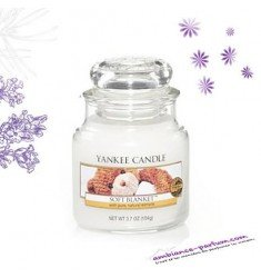 Bougie Yankee Candle - Couverture Douce