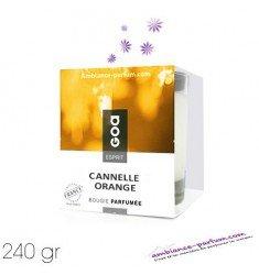 Bougie Crème Esprit GOA - Cannelle Orange