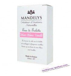 Eau de Toilette Mandelys - Musc Blanc Vanillé