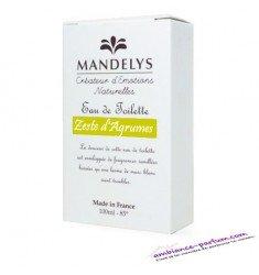Eau de Toilette Mandelys - Zeste d'Agrumes