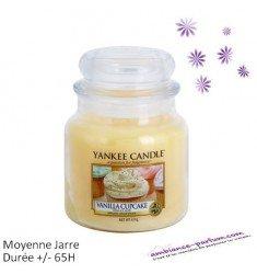 Bougie Yankee Candle - Vanilla Cupcake