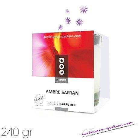Bougie Crème Esprit GOA - Ambre Safran