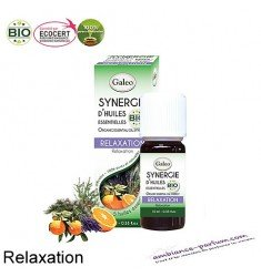 Synergie d'huiles essentielles Galéo BIO - Relaxation