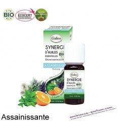 Synergie d'huiles essentielles Galéo BIO - Assainissante