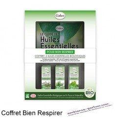Coffret 3 huiles essentielles BIO Galéo - Bien respirer