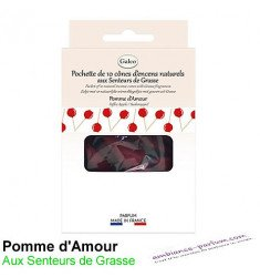 Cônes d'encens naturels - Pomme d'Amour