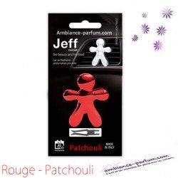Diffuseur Voiture Jeff Rouge - Patchouli