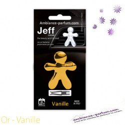 Diffuseur Voiture Jeff Or - Vanille
