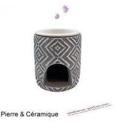 Brûle parfum FLORA - Pierre & Céramique