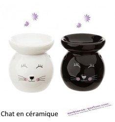 Brûle parfum Chat - Céramique