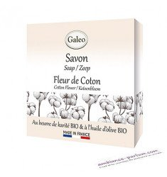 Savon Galéo Fleur de Coton