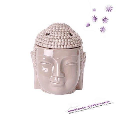 Brûle parfum Tête de Buddha Thaï - XL - Taupe