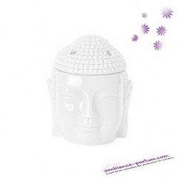 Brûle parfum Tête de Buddha Thaï - XL - Blanc
