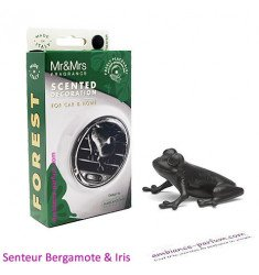Mr & Mrs Forest Frog Black - Bergamot & Iris