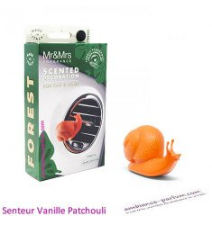 Mr & Mrs Snail | Orange fragrance Vanilla & Patchouli